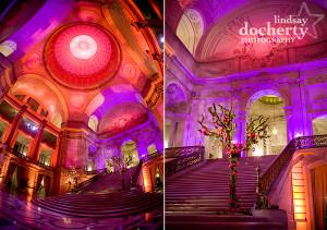 room lighting for wedding photography