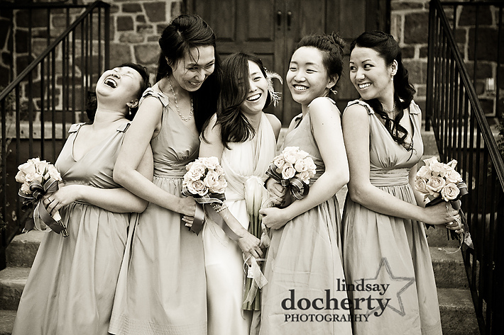 Gwynedd Wedding Photography Vietnamese Korean bridal party