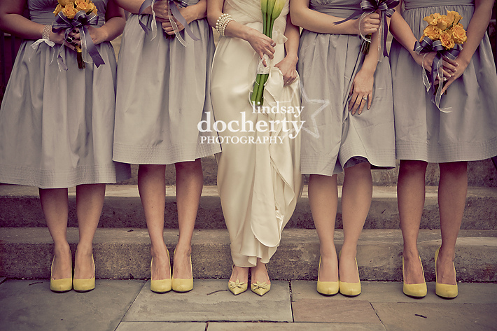 grey gray BHLDN bridesmaid dress wedding vera wang bride gown