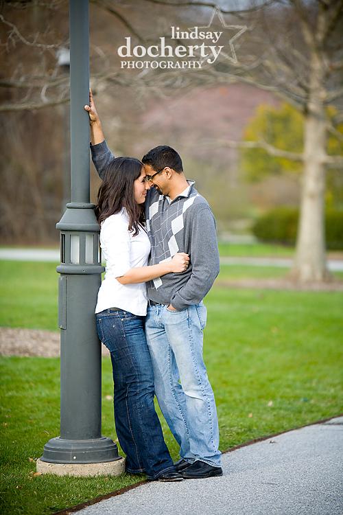 Longwood Gardens Engagement Photography