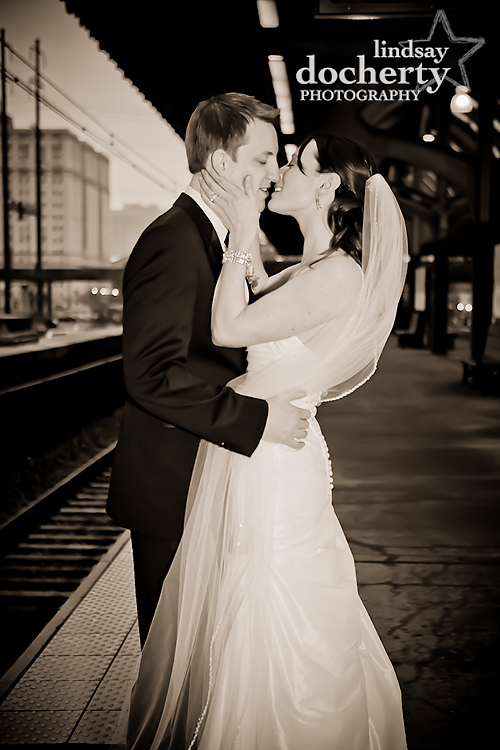 wedding Philadelphia photographer 30th Street Station