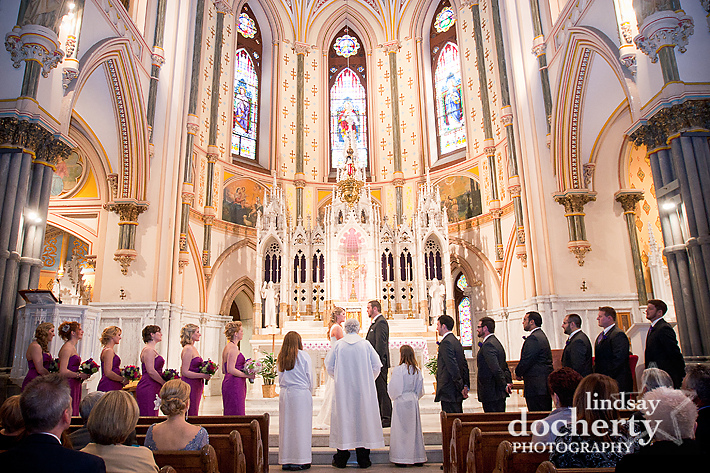 Philadelphia St. John the Baptist Church wedding