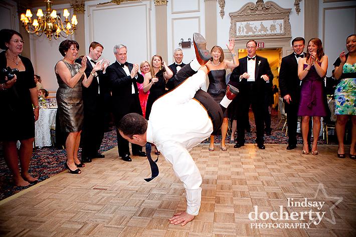 wedding breakdancing