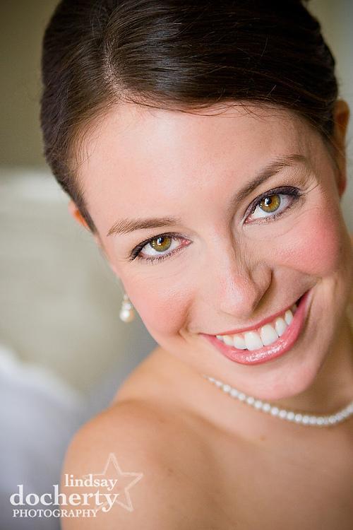 bride at  Philadelphia Wedding at Radisson Warwick