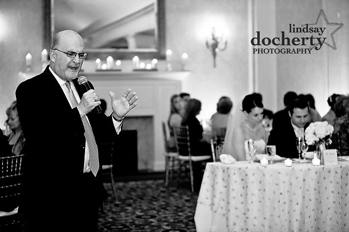 wedding blessing at reception at Radisson Warwick