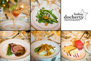 wedding food at Radisson Warwick
