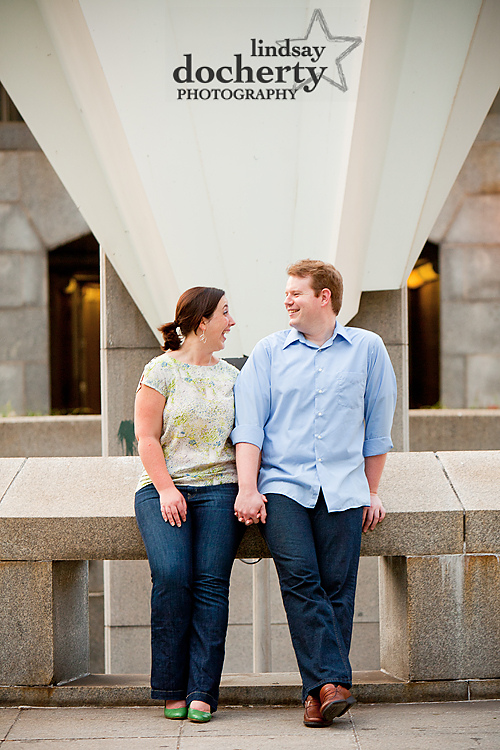 Philadelphia engagement session at City Hall
