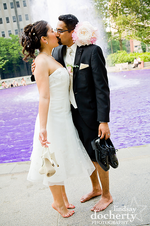 Love Park wedding photography