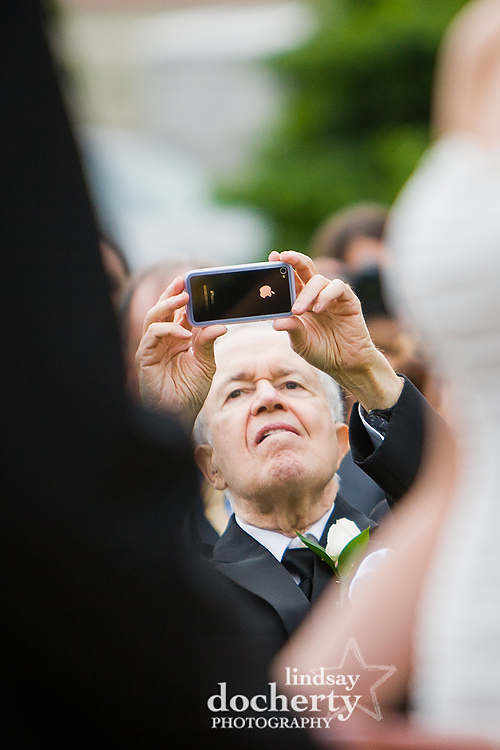 wedding ceremony photography at Pen Ryn Mansion