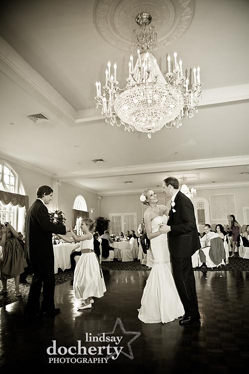 wedding reception photography at Pen Ryn Mansion