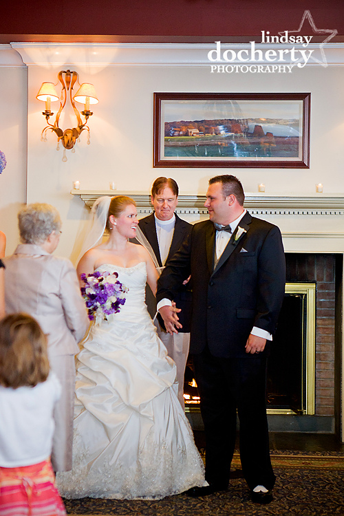 Wedding ceremony at Tarrytown House Estate