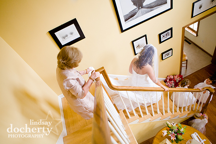Wedding photography in Delaware getting ready pictures