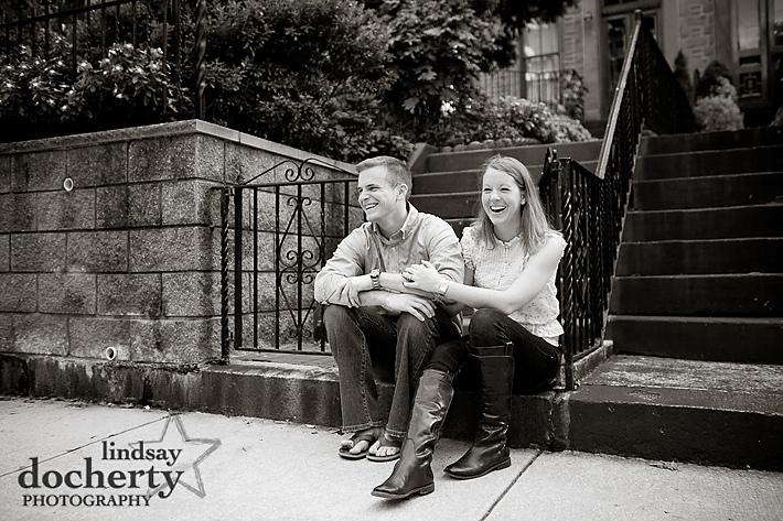 Philadelphia engagement photography session
