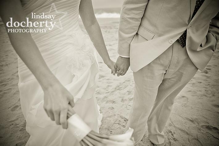 New Jersey beach wedding McLoone's Pier House