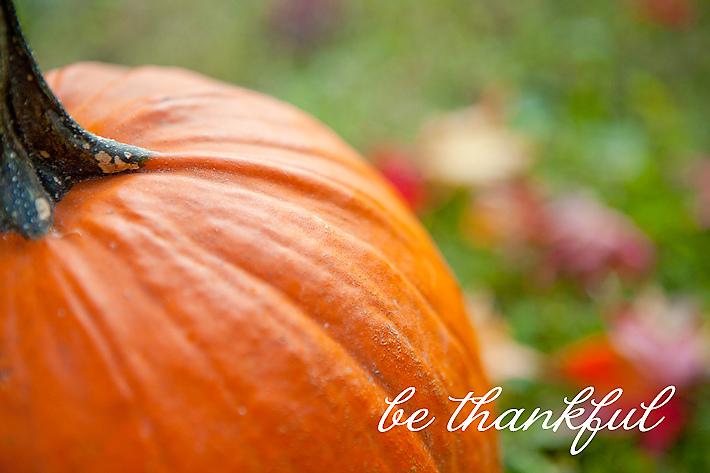 Happy Thanksgiving pumpkin
