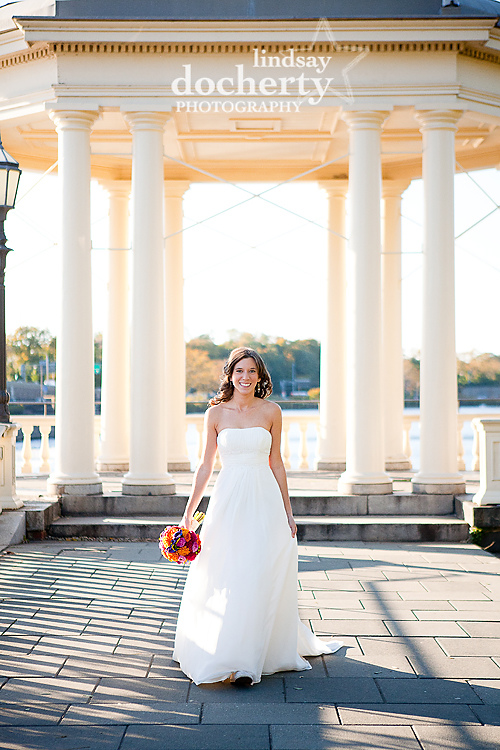 Philadelphia bridal photography at the art Museum