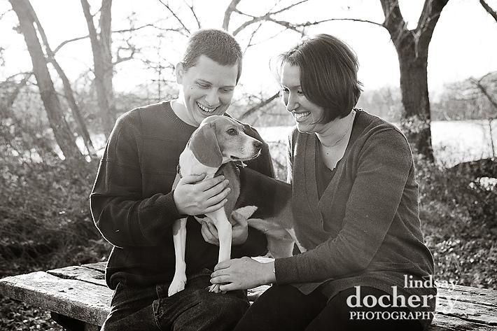 Philadelphia pet photography session at FDR Park