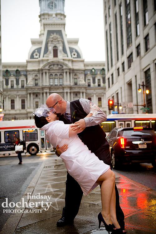 Philadelphia City Hall wedding pictures