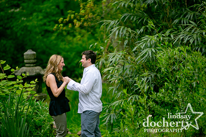 Philadelphia West Fairmount Park engagement session