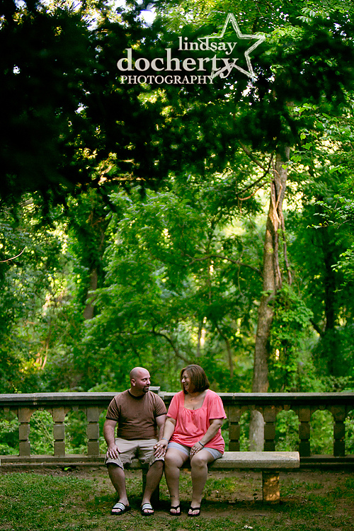 engagement photography session at Ridley Creek State Park