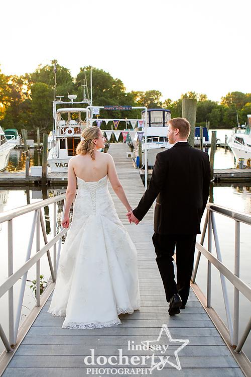 Wedding photography at Clarks Landing Yacht Club