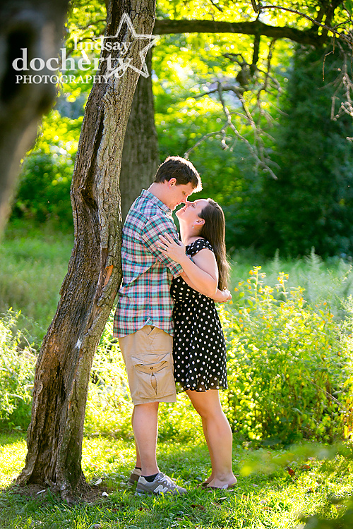 Montgomery County engagement photographer in Merion