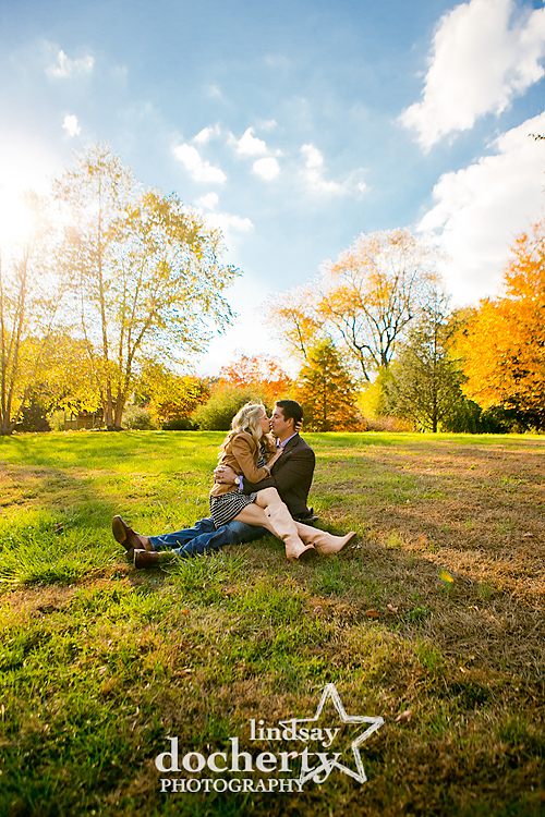 Main Line engagement photography in Bryn Mawr, PA