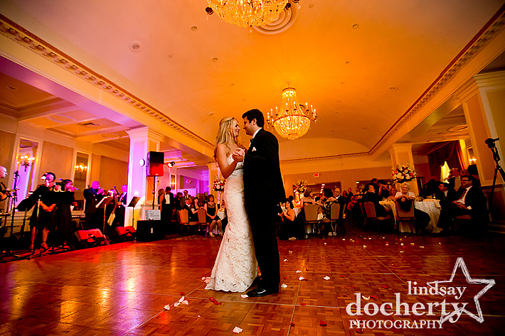 Radisson Plaza Warwick hotel wedding in Philadelphia