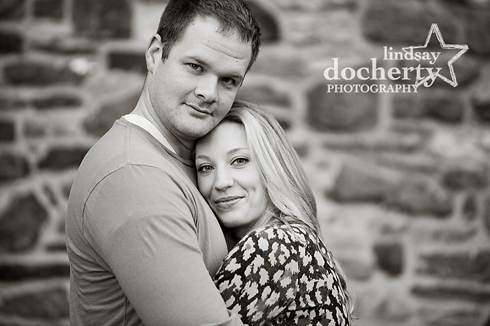 Philadelphia  engagement photography at Ridley Creek State Park