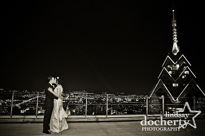 Pyramid Club wedding photography in Philadelphia, PA