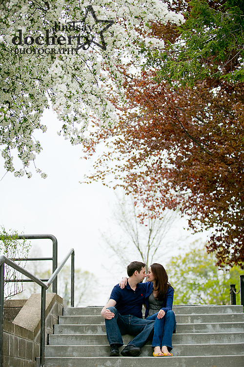 Villanova University engagement session