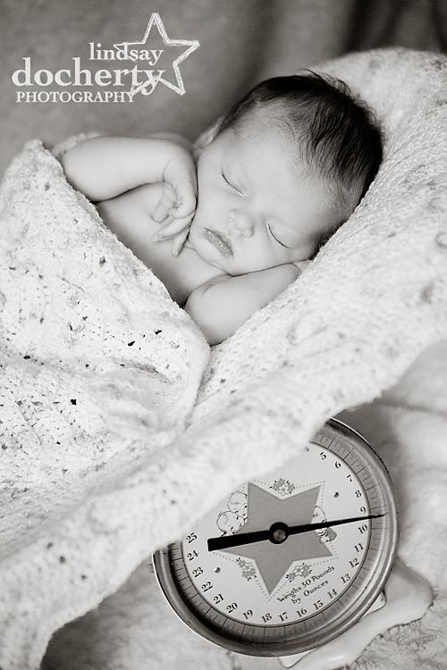 Main Line newborn baby photography
