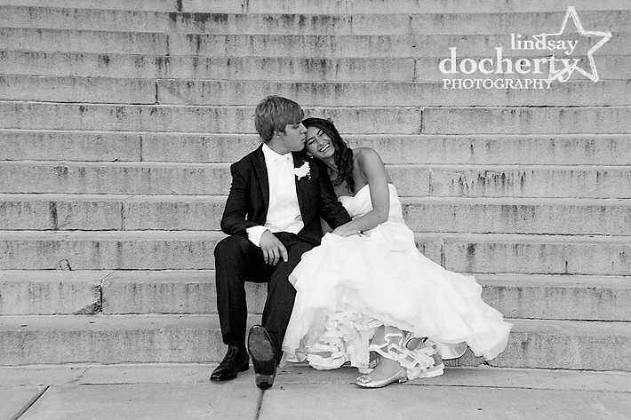 Philadelphia wedding photography at the Please Touch Museum