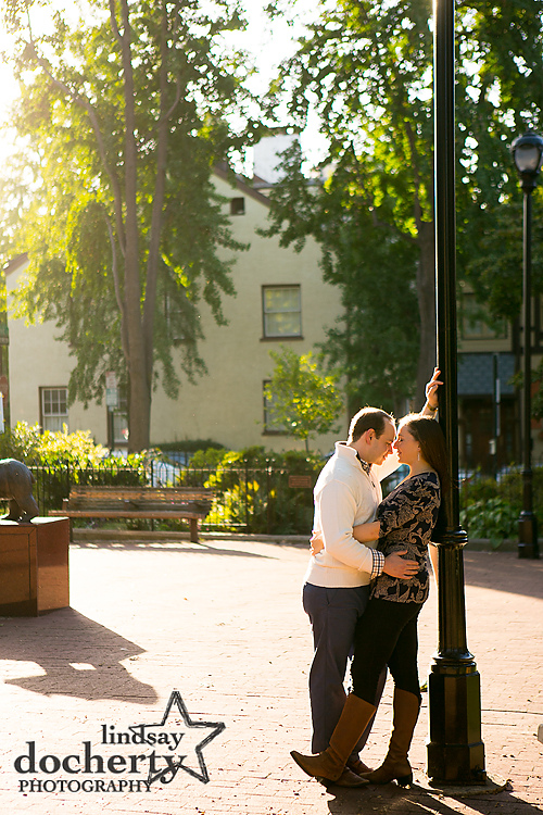 Philadelphia Engagement Photographer Rittenhouse Square