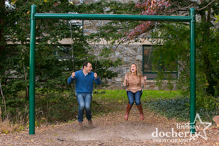 Main Line photography  engagement pictures