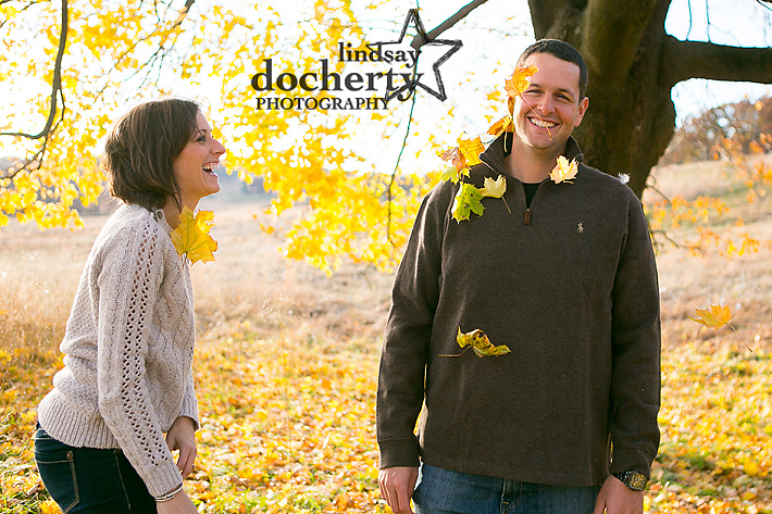Valley Forge National Park engagement pictures