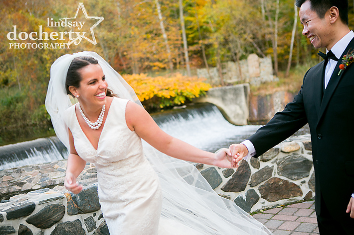 Media, PA Delaware County  wedding photography at the Kings Mills