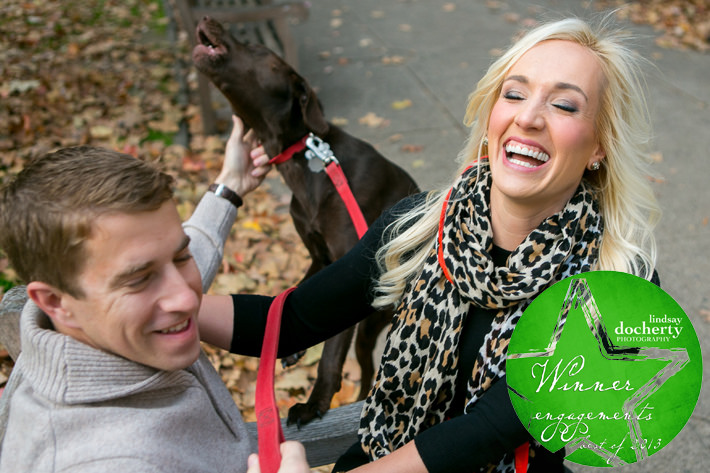 Best engagement picture of 2013 Philadelphia Photography