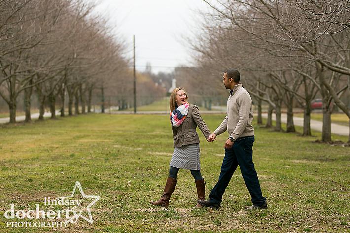 West Fairmount Park Philadelphia engagement pictures
