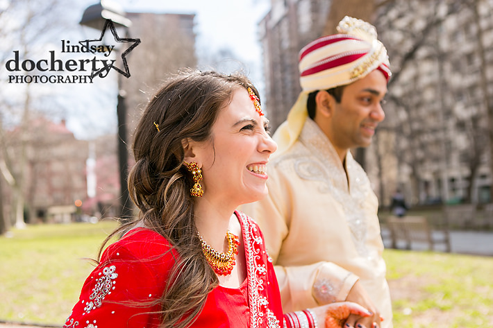 Philadelphia Hindu wedding pictures at Morris House Hotel