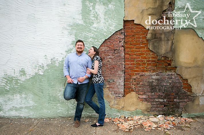 Philadelphia Rittenhouse Area engagement pictures