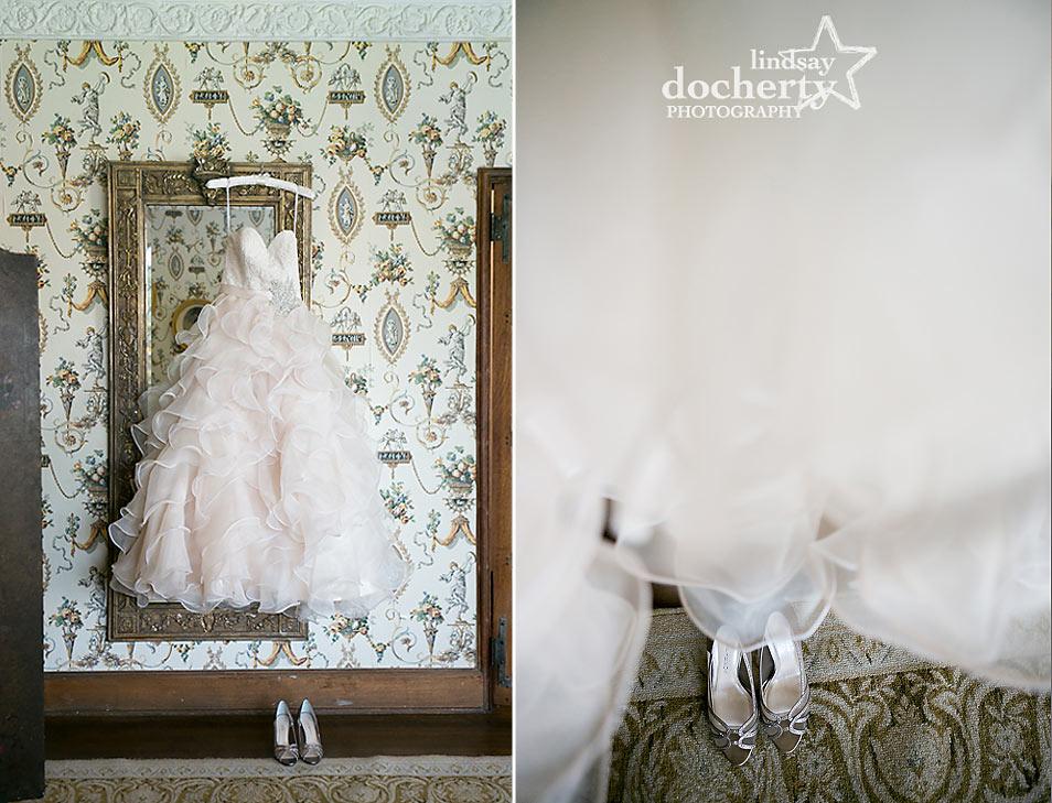 Aldie Mansion bride wedding dress