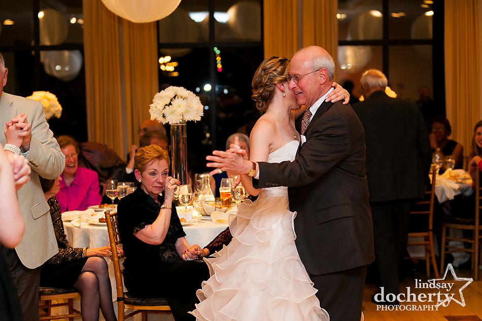 Father daughter dance at Aldie Mansion