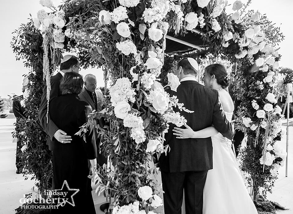 Jewish wedding ceremony at ACE Conference Center in Lafayette Hill