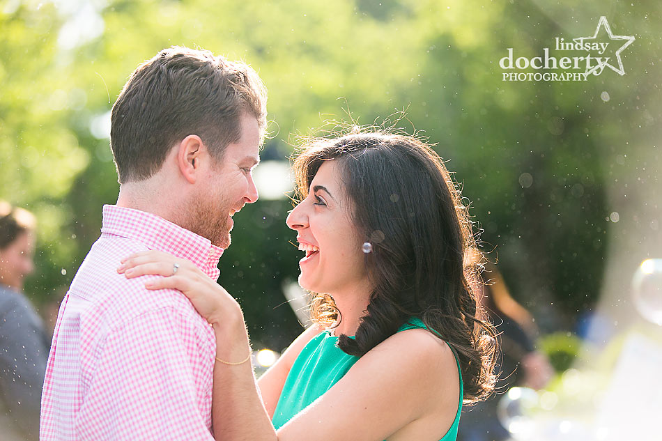 New York City Washington Square engagement session