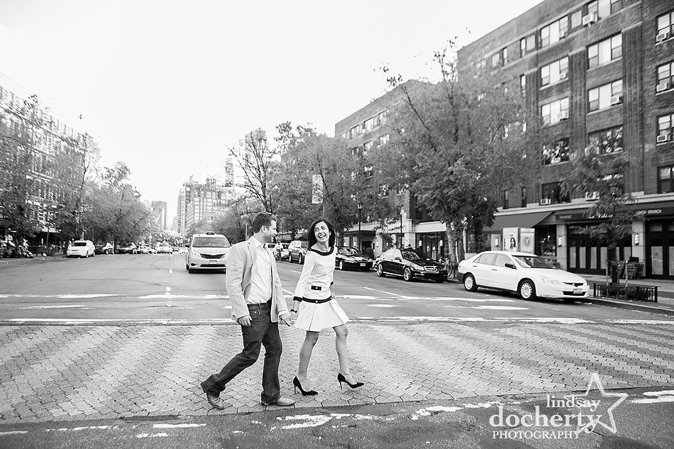 New York City engagement session in Manhattan