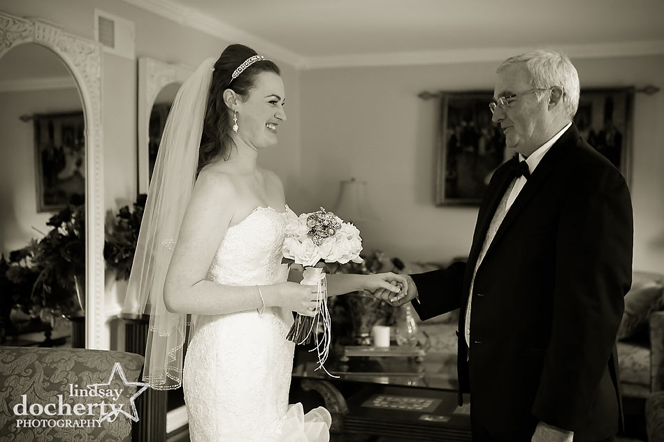 Delaware father daughter first look picture