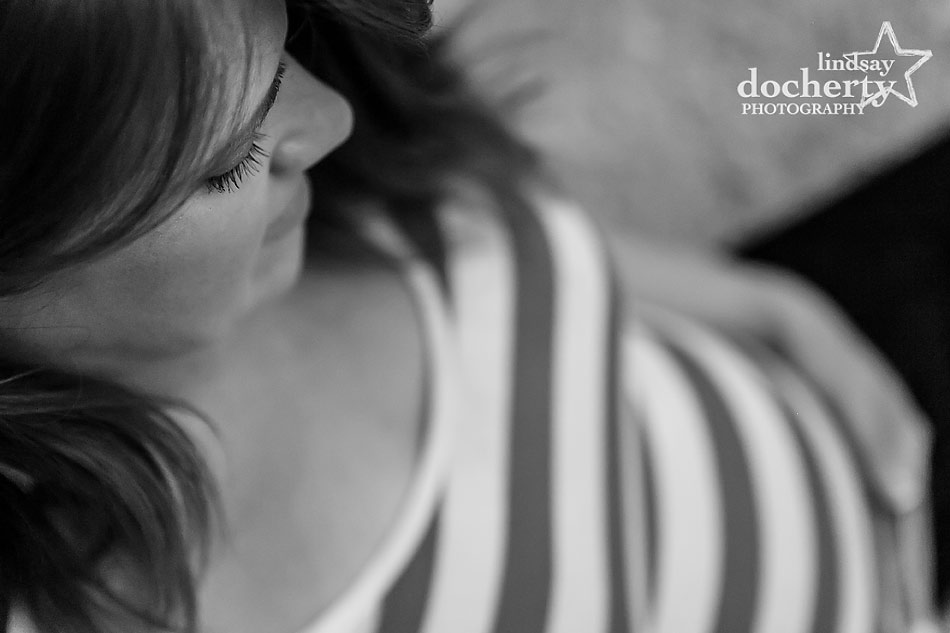 Main Line maternity session with gorgeous mom to be