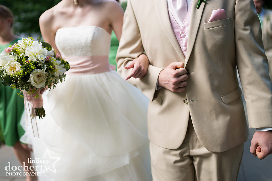 Philadelphia wedding ceremony at Morris House Hotel hand fasting