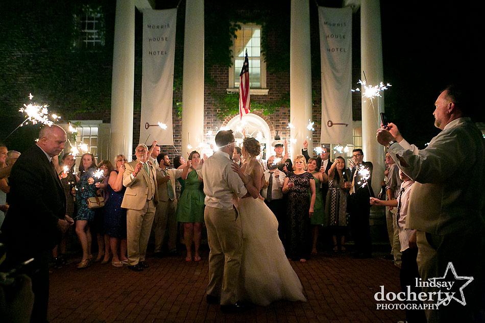 last dance at Philadelphia wedding reception at Morris House Hotel